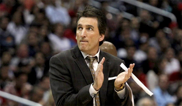 Vinny Del Negro coached the Clippers to their first Pacific Division title.