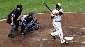 Orioles' Chris Dickerson homers in first two at-bats against Yankees