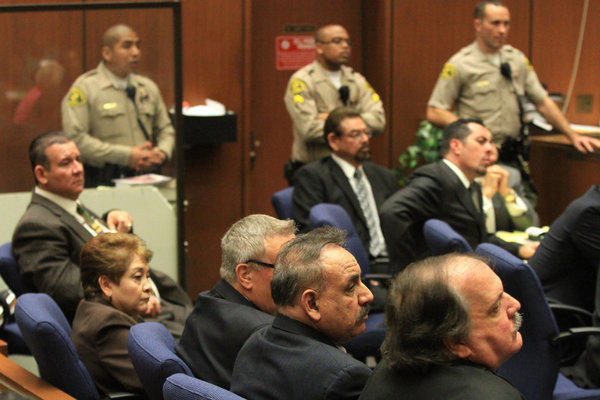 The L.A. County district attorney's office will retry five former Bell City Council members accused of misappropriation of public funds.