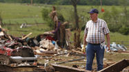 As residents in the Oklahoma City area grappled with the aftermath of the massive tornado that wiped out homes and businesses in its 20-mile path of destruction, killing at least 24 people, relief organizations solicited donations to help.