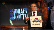 For the second time in three years, the Cleveland Cavaliers will have the No. 1 pick in the NBA draft.