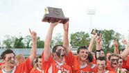 Defending state champion Fallston protected its turf in Tuesday's Class 2A-1A boys lacrosse championship.