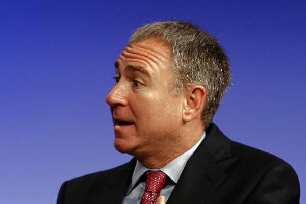Citadel CEO Ken Griffin, shown here at a California conference in April, criticized Mayor Rahm Emanuel on Monday at the Economic Club of Chicago.
