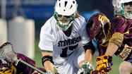 At Stevenson, playing defensive midfield is almost as much about athleticism as it is about defensive commitment. A unit composed of long-stick midfielders Chad Williams, Ryan Rubenstein and Warren Pumphrey and short-stick midfielders Connor Curro, Dylan Muti, Marcellus Preston and Peter Green must keep an opponent's midfielders at bay and turn defense into instant offense.