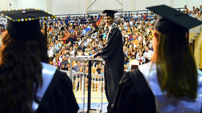 Martinsburg High grads 'must never forget where our path started'
