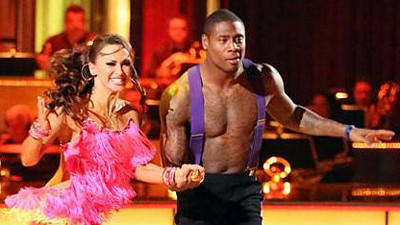Jacoby Jones falls short on 'Dancing with the Stars,' finishing…