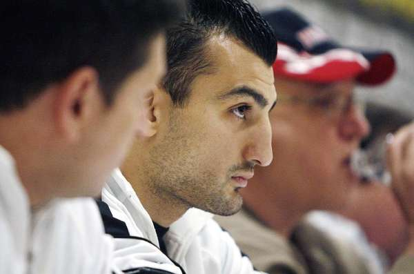 """ARCHIVE PHOTO: Vanes Martirosyan is scheduled to make his awaited return to the boxing ring on June 15 on HBO's """"Boxing After Dark."""""""