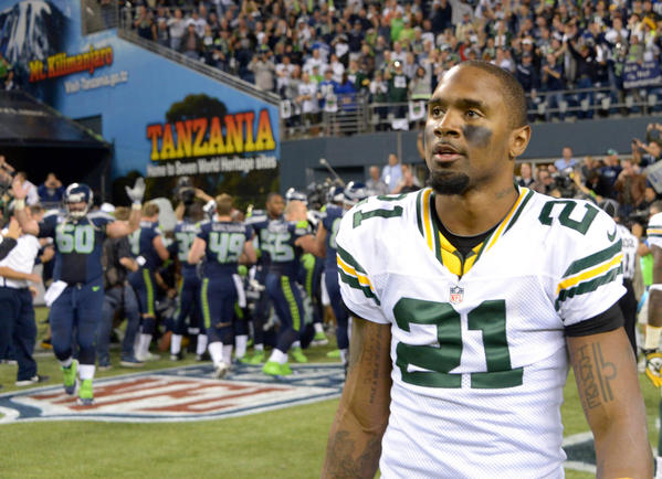 Former Packer Charles Woodson signed with the Raiders. (USA Today Sports Photo)