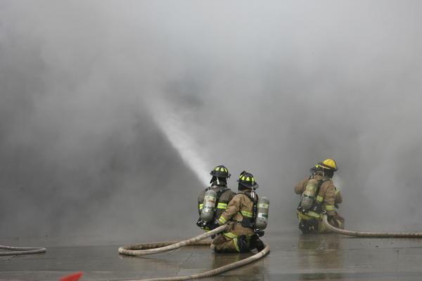 Fire at Eddie's Sinclair