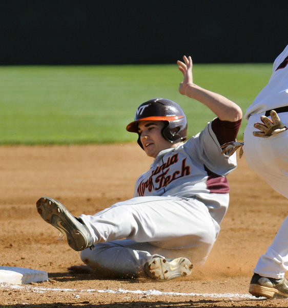 Virginia Tech utility player Andrew Rash