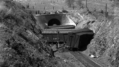 From the Archive: 1937 train derailment