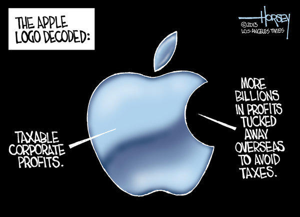 Apple avoids taxes by sending profits abroad