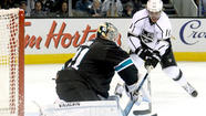 Kings sound alarm after Sharks get even