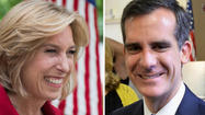 The latest round of election results that trickled in Tuesday night showed City Councilman Eric Garcetti and City Controller Wendy Greuel in a dead heat in the race to be the next mayor of Los Angeles.