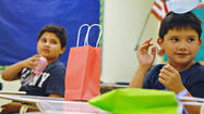 HOLTVILLE — For the second-grade students at Finley and Pine Elementary schools, a short trip to the local high school translated into a fun-filled physics lesson here Tuesday.