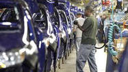 DETROIT (AP) — The Detroit automakers are largely forgoing the traditional two-week summer break at their factories and speeding up production to meet buyers' growing demand for new cars and trucks.