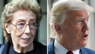A federal jury has adjourned for the day after deliberating for about 90 minutes in the trial pitting an Evanston grandmother against billionaire Donald Trump.
