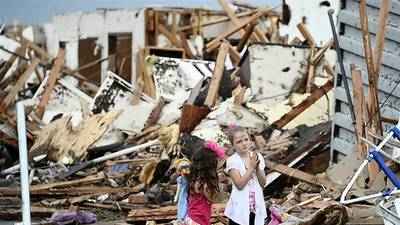 Parents face tough choice when tornadoes bear down