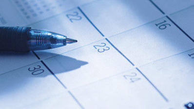 County calendar for May 23
