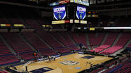 For the past 31 years, the old Big East Conference staged its men's basketball tournament at Madison Square Garden. For the past 10 years, the conference held its women's tournament in Hartford's downtown arena.