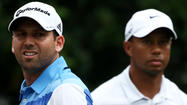 "Sergio Garcia said ""sorry"" 11 times and used the word ""apology"" on five occasions as he spoke of his regret at causing a furore by making a ""fried chicken"" jibe at world number one Tiger Woods."