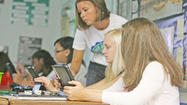 With just two weeks left in their sophomore year, East Jessamine High School students participating in an iPad innovation project pleaded with the school board Monday to support expanding the program to buy more devices. But the request came too late in the game — next year's tentative budget was approved Monday — and East High is gearing up to ask for support from the community.