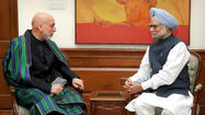 "NEW DELHI -- Afghan security after the departure of foreign combat troops in 2014 will become easier because of the ill-advised, misdirected and often corrupt ways NATO and its contractors have pursued the ""war on terror,"" Afghan President Hamid Karzai told reporters in India on Wednesday."