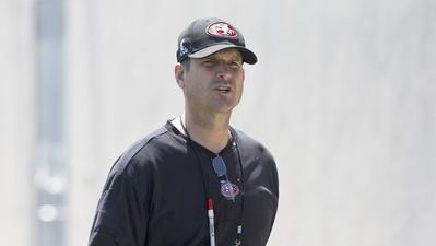 49ers coach Jim Harbaugh to drive Indianapolis 500 pace car