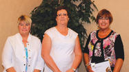 Hospital employees honored