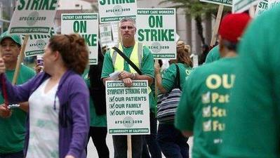 UC healthcare workers enter second day of two-day strike