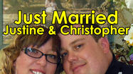 Justine Liberty and Christopher Bouse both of North Riverside, Illinois were married Monday, May 20, 2013