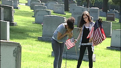 Students, veterans prepare for Memorial Day