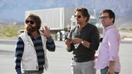 "Slow, sentimental and somewhat sedated, the third ""Hangover"" movie isn't so much exhausted of outrageous ""Oh no, they <em>didn't</em>!"" ideas as it is spent of energy. And they knew it too. The only raunchy moment is stuffed into the closing credits, a ""we forgot to do that"" afterthought."