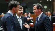 LONDON -- European leaders gathered in Brussels on Wednesday to discuss how to clamp down on multinational companies that exploit loopholes or set up complex accounting schemes to lower their tax bills.