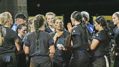 East's bats sink Lady Colts to capture district title