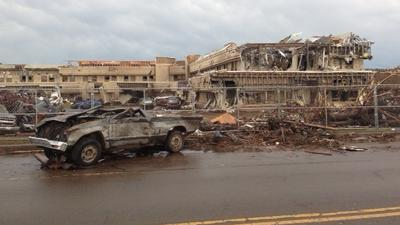 PHOTOS: WDBJ7 Oklahoma tornado damage pictures