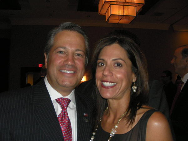 County Commissioner Chip LaMarca and his wife Eileen.