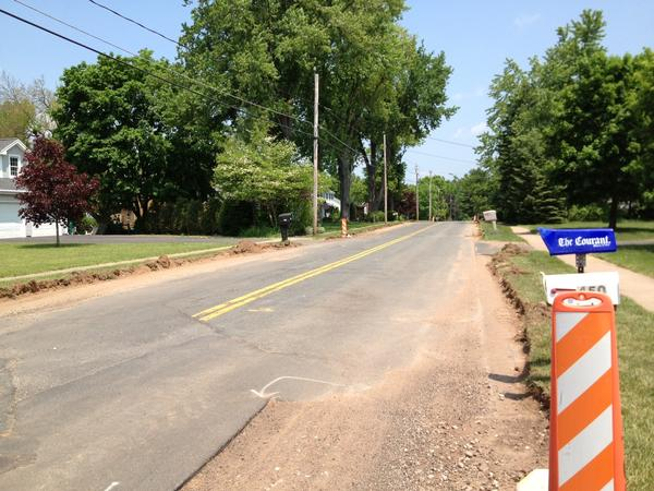 Town to pave Addison Road in June.