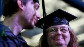After homelessness, mother and son graduate from Howard CC