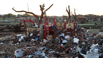 Oklahoma tornado aftermath: Lots of debris but 'we'll get to it'