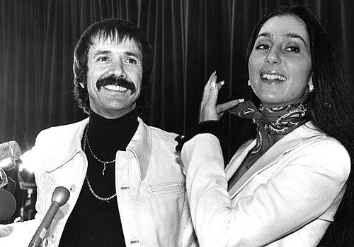 The late singer, shown here with his famed sidekick and former wife Cher, represented Palm Springs in the House.