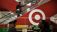 Target Corp. shares sagged more than 4 percent Wednesday as the discount retailer cut its full-year profit forecast on weak first-quarter results.