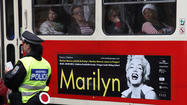 Part of Marilyn Monroe exhibition stolen on way to Prague