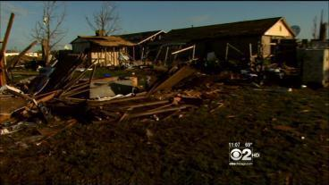 Oklahoma Tornado Survivors Start Trying To Pick Up The Pieces