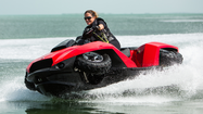If you don't know what a quadski is, you have plenty of company. But it's a prize on Monday at  Seminole Casino Coconut Creek.