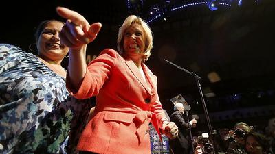 Wendy Greuel concedes L.A. mayor's race to Eric Garcetti