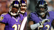 Two defensive starters coming off injuries displayed signs of progress during the Ravens' first organized team activities Wednesday.