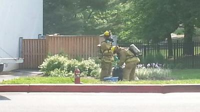Hazmat team clears accidental chemical mix in Columbia