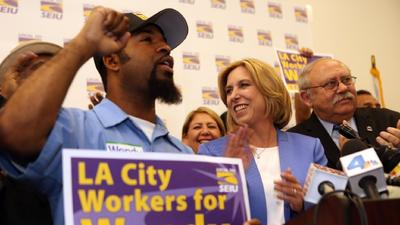 Unions had bad night in mayor's race, did better in council races