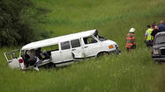 The long white van veered out of control before buckling, shattering its windows, flipping four times and ejecting nine of its 11 passengers along a grass-lined interstate in Illinois on Monday morning — leaving five Baltimore men dead and several others badly injured.